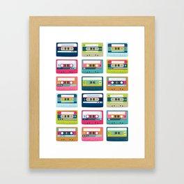 Mixtape Monday Framed Art Print