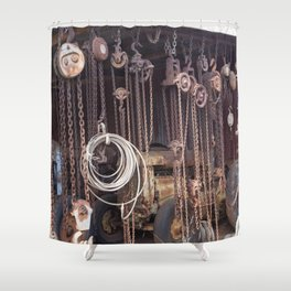 Endless Chains are always endless Shower Curtain