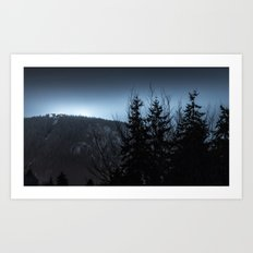 Grouse Mountain Art Print