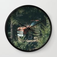 ford Wall Clocks featuring Ford by danotis