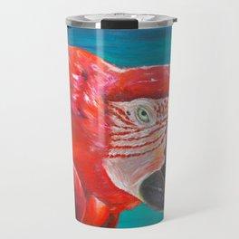 Scarlet macaw Travel Mug