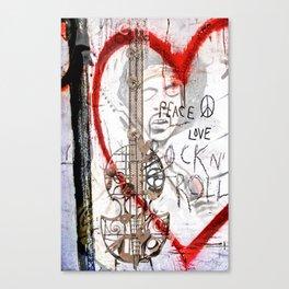 I love Rock'nRoll Canvas Print