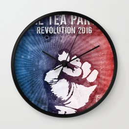 Tea Party Revolution 2016 Wall Clock
