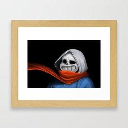 Sans painting Framed Art Print