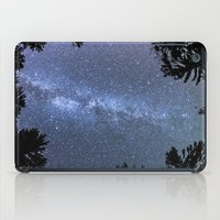 milky way iPad Cases featuring Milky way  by FiveAcesMedia
