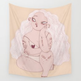 Not Your Babe Wall Tapestry