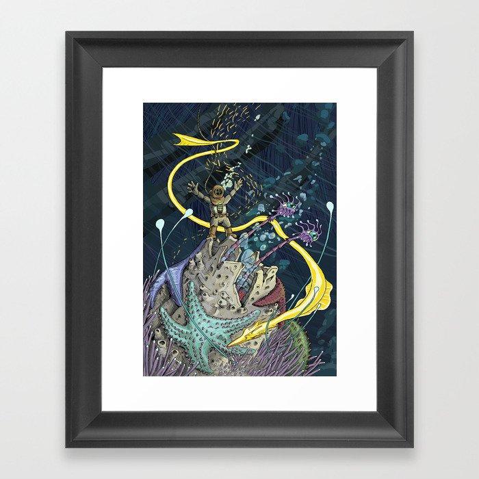 Big Life Framed Art Print