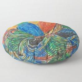 Waves in my Dreams Floor Pillow