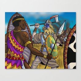 The Vandals Invade North Africa Canvas Print