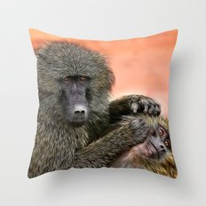 I Told You To Wash Behind Your Ears! Throw Pillow