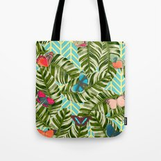 Caged Butterflies Tote Bag