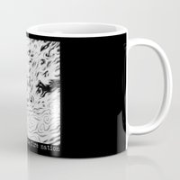 aang Mugs featuring Aang Against the Fire Nation by pigboom el crapo