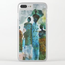 Tribe Clear iPhone Case