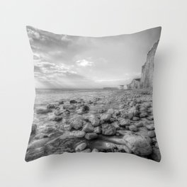 Birling Gap Seven Sisters Throw Pillow