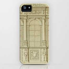 Classical Library Architecture iPhone Case