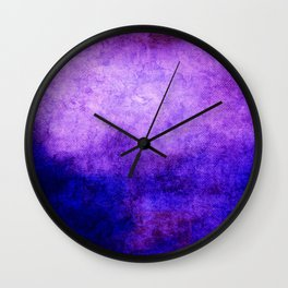 Abstract Cave V Wall Clock