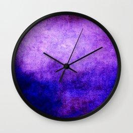 Abstract Cave V Wall Clock
