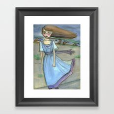 The Calm Before the Storm Framed Art Print