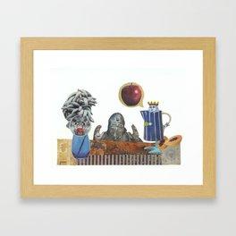 Persuasive power Framed Art Print