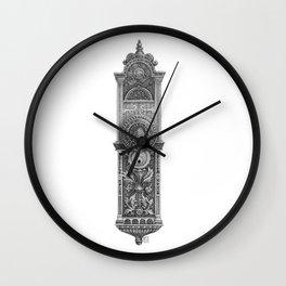 Salt Lake City Temple Doorplate Wall Clock