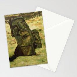 Moai Stationery Cards
