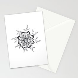 Mandala in Nature Stationery Cards