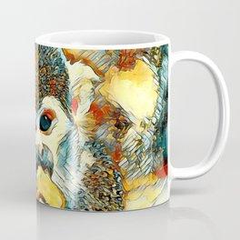 AnimalArt_Monkey_20180204_by_JAMColorsSpecial Coffee Mug