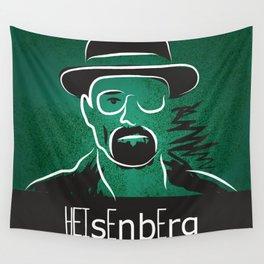 Breaking Bad Heisenberg  Wall Tapestry