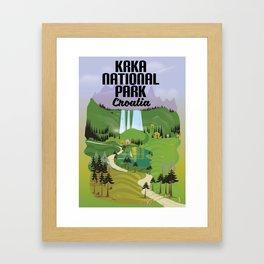 Krka National Park Framed Art Print
