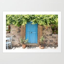 Doorways - Cunda Island IV Art Print