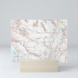 CA Salton Sea 299866 1959 Topographic Map Mini Art Print