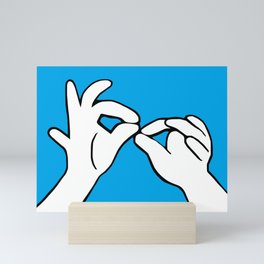 ASL Interpret Mini Art Print