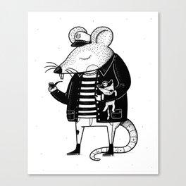 Rat Ship Canvas Print