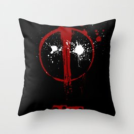 Deadpool. Throw Pillow