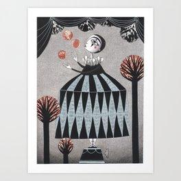 The Juggler's Hour Art Print