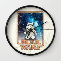 Bear Wars Vintage - Bear Trooper Wall Clock