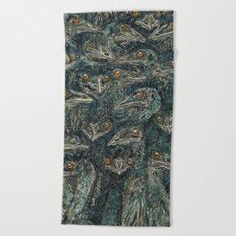 Emus Beach Towel