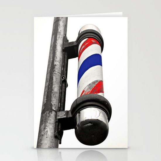 Haircuts here Stationery Cards