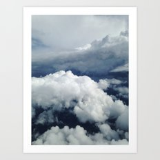 East Coast Cumulus Art Print