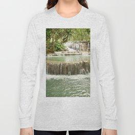 Zen Waterfalls Harmony Long Sleeve T-shirt