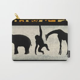 Animals on Parade Carry-All Pouch