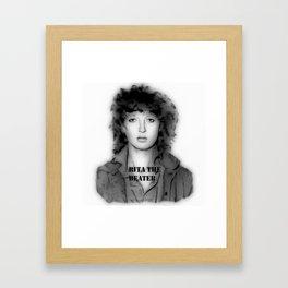 RITA THE BEATER Framed Art Print