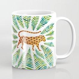 Jaguar – Green Leaves Coffee Mug