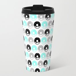 Frosted Donuts - Mint Travel Mug