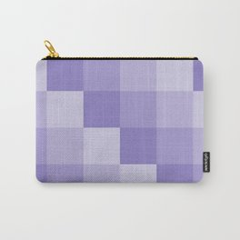 Four Shades of Lavender Square Carry-All Pouch