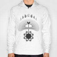 moon phases Hoodies featuring Moon phases  by gotchii