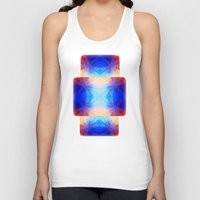mirror Tank Tops featuring Mirror by Vargamari