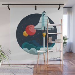 Exploring space Wall Mural