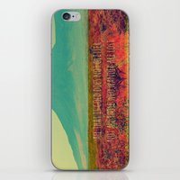 not all who wander iPhone & iPod Skins featuring Wander by Endless Summer