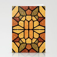 sacred geometry Stationery Cards featuring Sacred geometry - Voronoi by Enrique Valles